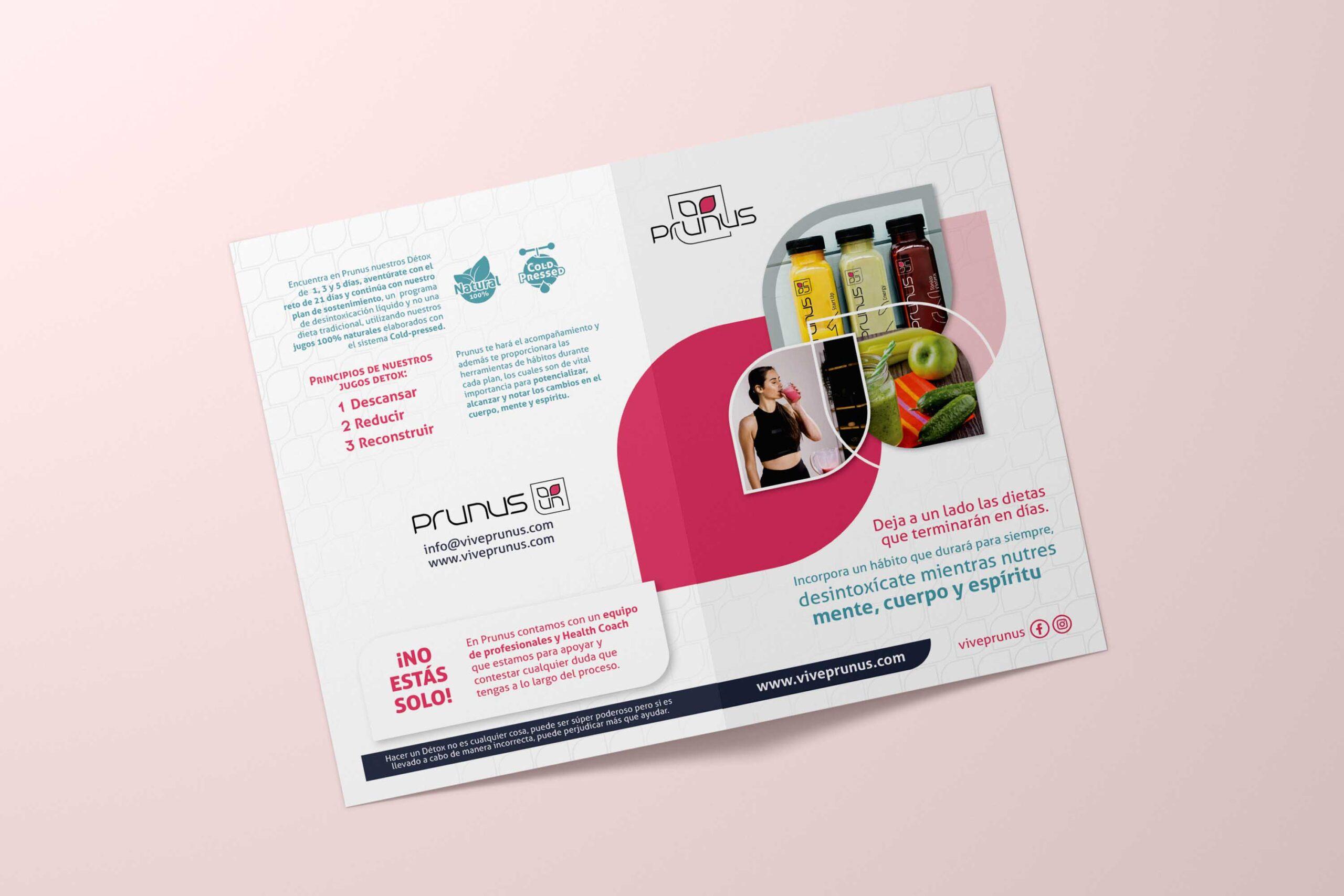 Cover Brochure Prunus