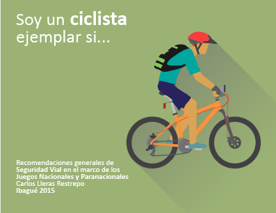 Portada Plegable Ciclistas