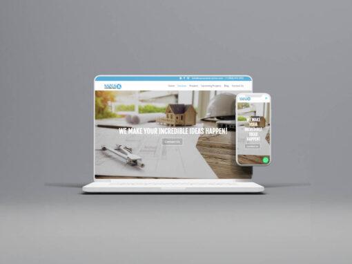 Website Nazca Construction