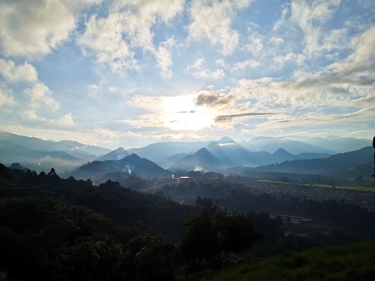 Montañas en Manizales