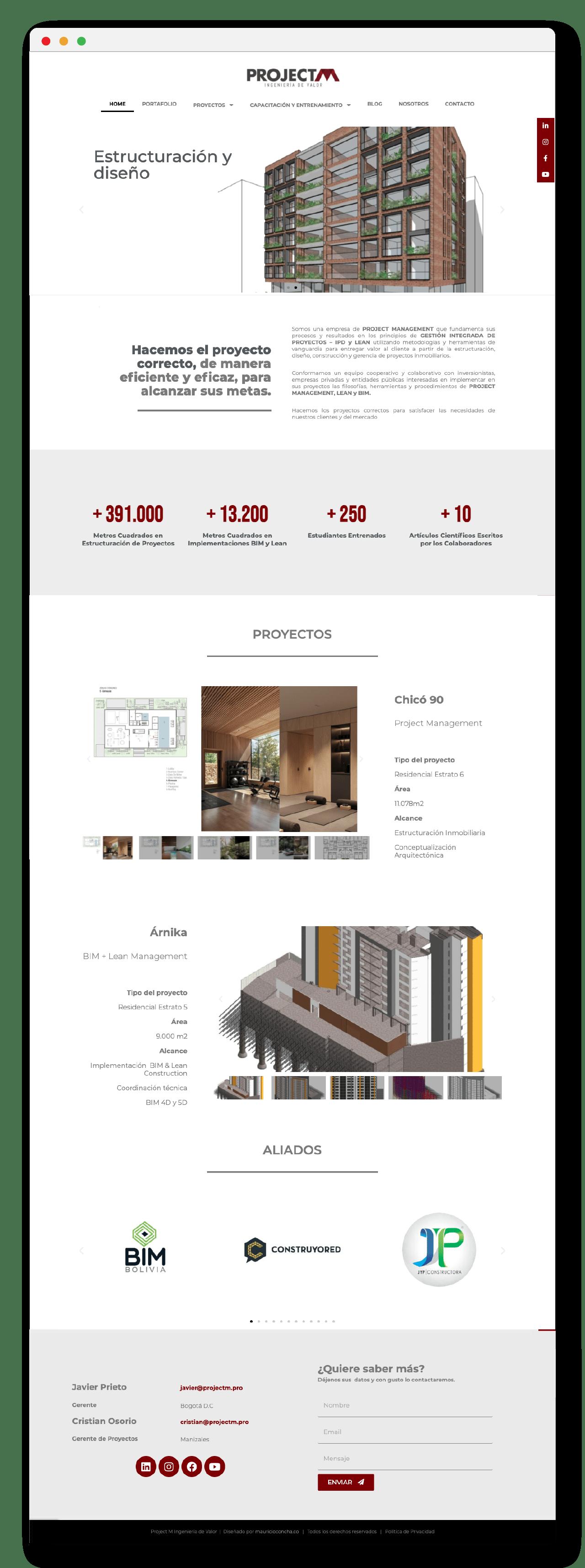 Website Design Elementor CMS