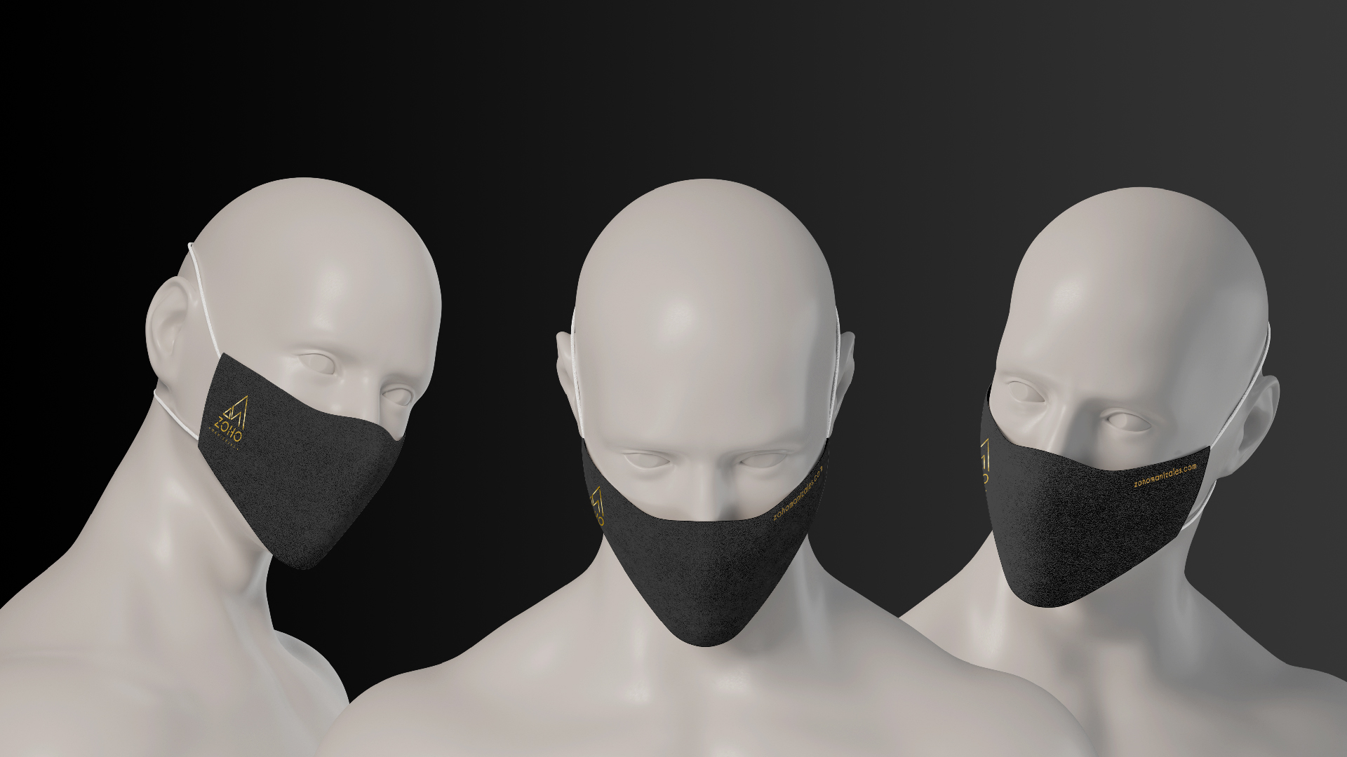 Zoho Mask