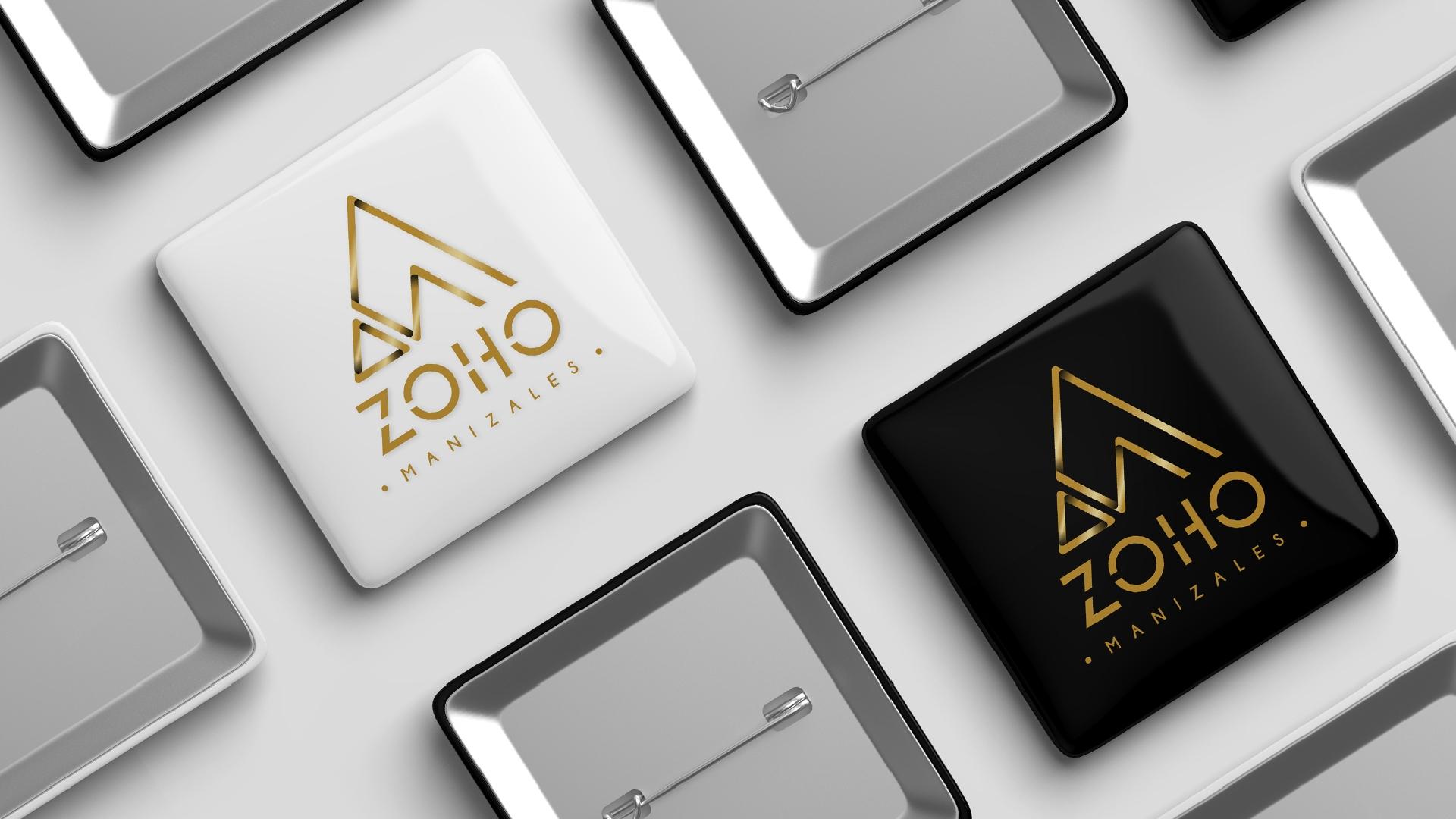Zoho Pin Buttons