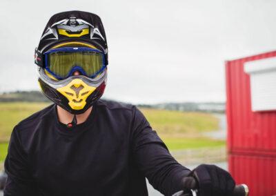 Montaje Gafas Moto