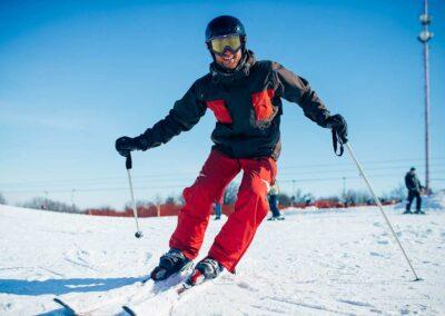 Montaje Esquiador Gafas